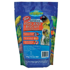 vetafarm superior egg and biscuit-formula-2kg